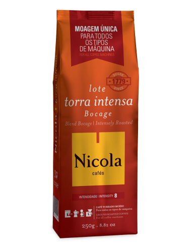 Café Moído BOCAGE TORRA INTENSA